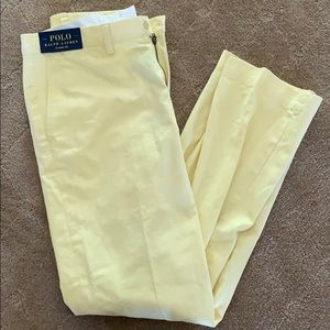 Polo Ralph Lauren Classic Fit Yellow Pants